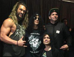 'Juego de Tronos': Jason Momoa y Peter Dinklage acuden al concierto de Guns N' Roses en Londres