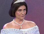 'Sálvame': Carlota Corredera se convierte en la Reina Isabel II en su sección 'Hecho un cuadro'