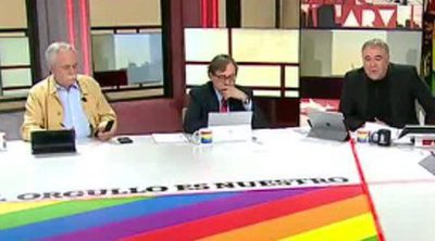 'Al rojo vivo': El programa customiza su mesa e imagen con motivo del World Pride 2017