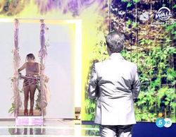 Gloria Camila ('Supervivientes 2017') regresa a España y se reencuentra, en directo, con su padre Ortega Cano