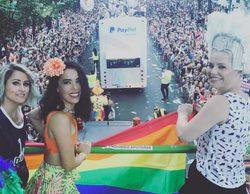 Cayetana Guillén Cuervo, Beatriz Luengo, Carlota Boza y otros rostros televisivos disfrutan del World Pride