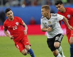 El partido de la Copa de Confederaciones entre el Chile - Alemania anota un gran 11,1% en Gol