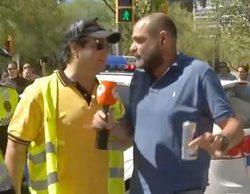 'Espejo público': El taxista que agredió al reportero del programa pide disculpas