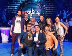 'Me resbala' estrena su nueva temporada el viernes 14 de julio, sustituyendo a 'Ninja Warrior'