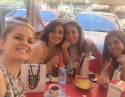'Al salir de clase': Athenea Mata, Aurora Carbonell, Marián Aguilera y Lucía Jimenez se reencuentran