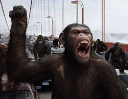 """""""El origen del planeta de los simios"""", en FDF, arrasa como lo más visto"""