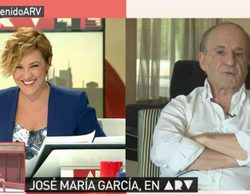 """José María García carga contra laSexta y Ferreras ('ARV'): """"No me gusta laSexta, le sobra show"""""""