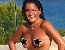 Aída Nízar disfruta del verano en topless tras vencer la batalla legal al marido de Irma Soriano ('GH VIP')