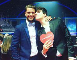 Maxi Iglesias y Javier Calvo ('Física o Química'), juntos de nuevo en los Premios Platino