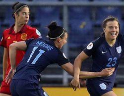El partido de la Eurocopa entre Inglaterra - España destaca en TDP y 'Big Bang' lidera el día