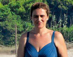 Carlota Corredera protagoniza la portada de Diez Minutos en bañador durante sus vacaciones en Mallorca
