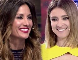 Sandra Barneda y Nagore Robles intercambian piropos por 'Me lo dices o me lo cantas'