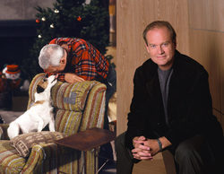 "'Frasier': Kelsey Grammer asegura que John Mahoney ""odiaba"" al perro Moose"