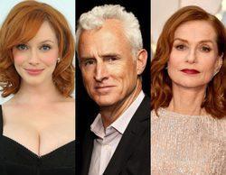 Christina Hendricks, John Slattery e Isabelle Huppert se unen a 'The Romanoffs'