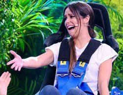 """Cristina Pedroche llora en la silla giratoria de 'Me Resbala': """"Me da mucho susto"""""""