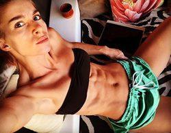 Sara Miquel ('Acacias 38') sorprende a las redes sociales luciendo sus marcados abdominales