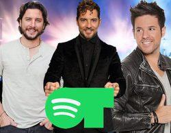 'Operación Triunfo': David Bisbal, Manu Carrasco y Pablo López, los triunfitos más escuchados en Spotify