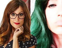 Ana Morgade ('Zapeando') sorprende en las redes sociales con su cambio de look, tiñéndose el pelo de verde