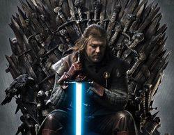 """'Juego de Tronos': Así lucen las mejores peleas de la serie con los sables láser de """"Star Wars"""""""