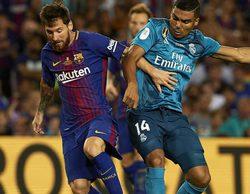 La Supercopa de España que enfrentaba al R. Madrid y el Barça arrasa en Telecinco con un espectacular 49,8%