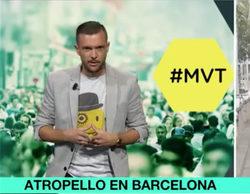 Todas las televisiones interrumpen su programación para informar del atentado de Barcelona