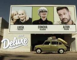 Concha Velasco, Aitor Trigos y Lucía Pariente, nuevos invitados de 'Sábado Deluxe'