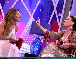 María José Cantudo y María Patiño mantienen un fuerte enfrentamiento en 'Sábado Deluxe'