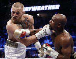"""Así fue la """"pelea del siglo"""" en la que Mayweather venció sin apenas dificultad a Conor McGregor"""