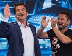 'Me resbala' cierra temporada liderando con un 13,7% frente al 10,9% de 'The wall' en Telecinco