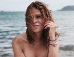 Antonia San Juan ('La que se avecina') incendia las redes con varios topless en Fuerteventura