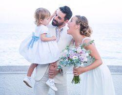 Jonathan y Yoli ('GH15') se casan rodeados de sus compañeros de edición