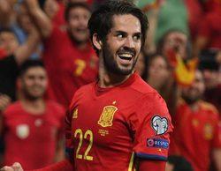 El partido España-Italia arrasa con un 44,6% en La 1 y más de 5 millones de espectadores