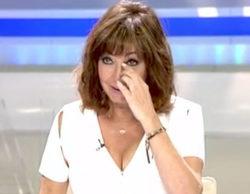 Ana Rosa Quintana rompe a llorar en directo con el reencuentro entre María José Carrascosa y su hija