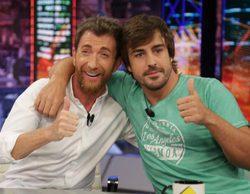 """Fernando Alonso se confiesa en 'El hormiguero': """"Una vez di una vuelta en coche al Rey Juan Carlos"""""""