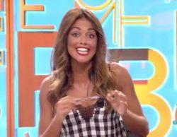 "Lara Álvarez se estrena en 'Dani&Flo' con un lapsus: ""Estoy nerviosa en mi primer día"""