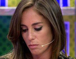 Anabel Pantoja anuncia en 'Sálvame' la ruptura con su novio y se derrumba tras la llamada de su madre