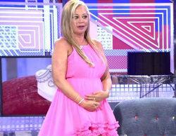 Belén Esteban aclara en 'Sábado deluxe' las dudas de su supuesto embarazo