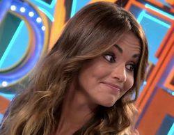 'Dani&Flo': Lara Álvarez guarda silencio al dar una noticia sobre Fernando Alonso