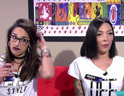 Lucía y Paula ('GH 15') protagonizan un tenso reencuentro en 'Viva la vida'