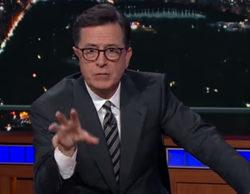 """Stephen Colbert responde a Donald Trump por sus criticas de los Premios Emmy: """"¡En tu cara!"""""""