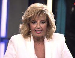 Así ha sido la reaparición televisiva de María Teresa Campos en 'GH Revolution: El debate'