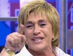 """Chelo García Cortés aparece en una aplicación para ligar entre mujeres y se """"descompone"""" en 'Sálvame'"""