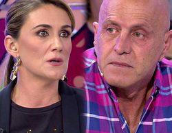 """El cabreo de Carlota Corredera por el gesto de Kiko Matamoros en 'Sálvame': """"Me parece una falta de respeto"""""""