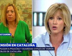 Susanna Griso estalla en 'Espejo Público' en una conversación con la alcaldesa de Calella