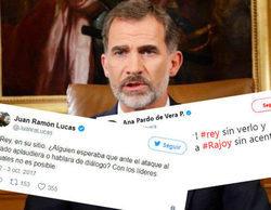 """Rostros populares opinan sobre el discurso del rey: """"Pensaba que hablaba Rajoy sin acento"""""""