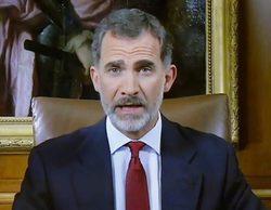 """El discurso del Rey desata el humor en las redes: """"Y yo sin gambas en casa"""""""