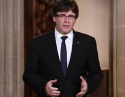 """TVE """"se olvida"""" del discurso de Carles Puigdemont y sólo lo emite íntegro en el Canal 24 horas"""