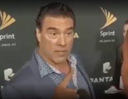 Un actor mexicano propina una sorprendente bofetada a un reportero de Univisión en directo