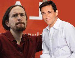 """Javier Ruiz pone contra las cuerdas a Pablo Iglesias en 'Las mañanas de Cuatro': """"¡Manipulación, ninguna!"""""""
