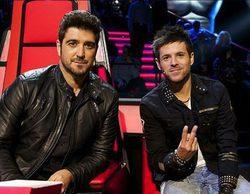 Pablo López se cuela en un concierto de Antonio Orozco para pedirle que sea su asesor en 'La Voz'
